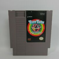 TINY TOON ADVENTURES NES Nintendo Authentic Game -tested-