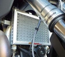 Moto Guzzi Stelvio 1200 2008-2016 RadGuards Radiator Guard Protector Mesh Silver