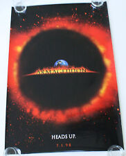 ARMAGEDDON DS MOVIE POSTER ONE SHEET NEW AUTHENTIC