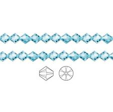 Swarovski Crystal Beads 5328 Xilion Bicone 4mm Package of 48