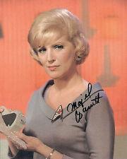 Majel Barrett   8 x 10 Autograph Reprint  Star Trek  General Hospital  Bonanza
