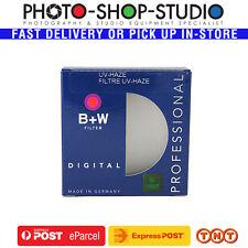 B+W 43mm Clear UV Haze Lens Filter (010) #70074 Camera DSLR Canon Nikon Sony