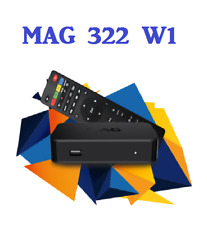 Infomir MAG 322w1 WIFI (150Mbps) with US power adapter