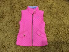 Joules Girls 6 yrs Pink Quilted And Padded Gillet Body warmer Coat/Jacket