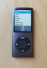 Apple iPod Nano 4G / 4. Generation Schwarz (16GB) - Wie NEU!