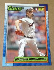 2015 Topps 1990 #1 Draft Picks 5x7 Version (#/99 Made) MADISON BUMGARNER Giants