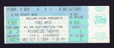 1994 Tori Amos Unused Full Concert Ticket Milwaukee WI Under The Pink