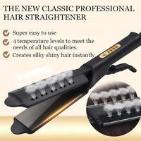 Ceramic Tourmaline Ionic Flat Iron Hair Straightener Professional Glider Dry Wet