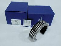 Swarovski Resin Bangle, Clear Crystal Authentic MIB 1136362