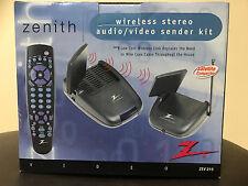 Zenith 2.4GHz ZEV 215 Wireless A/V Stereo Audio/Video Sender AV IR Emitter NEW