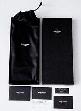 $1K SAINT LAURENT Paris by Yves Saint-Laurent YSL Wallet CLUTCH Leather ITALY