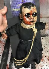 Halloween Talking Evil Doll Prop Possessed Porcelain Haunted House Decoration