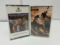 Country Music Cassette Tape Lot of 2 Willie Nelson & History of Country Vol 12