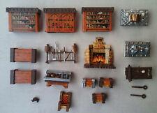 Lot de 15 meubles (table coffre autel établi tombe...) HEROQUEST GAMES WORSHOP