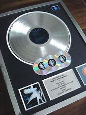 THE CURE HEAD ON THE DOOR LP MULTI PLATINUM DISC RECORD AWARD ALBUM