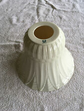 Large Lenox China Art Deco Torchiere Lamp Shade - Floor Lamp Size