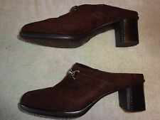WHITE STAG BROWN SHOES WOMEN'S SIZE 11 (2.25 INCH HEEL)  PATTY