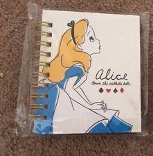 Japan Alice mini notebooks Disney