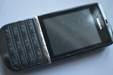 Nokia Asha 300 - Graphite (Unlocked) Buttons and touchscreen Smartphone
