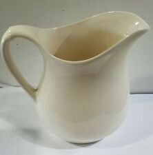 Used, Ivory, 2-cup Pitcher with Handle, Farmhouse or Primitive Decor