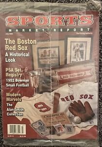July 2005 SMR Sports Market Report PSA Price Guide Boston Red Sox History Sealed