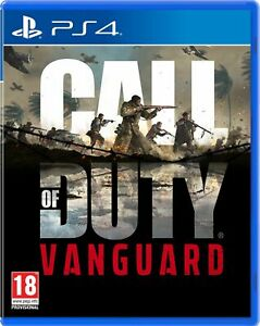 Call of Duty: Vanguard (PS4) Pre Order Out 5th Nov Brand New & Sealed