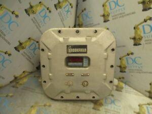 KILLARK EXB-886N34CNMOD EXB-836N34 EXPLOSION PROOF ENCLOSURE W/ BD35 METER