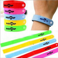 5 x Mozzie Wristbands Mosquito Insect Repellent Bracelet Anklet Pure Natural