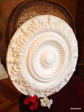 Plaster-stucco rosette 100-406 con acanto decorati in stucco rosette 50 cm
