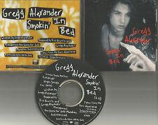 New Radicals GREGG ALEXANDER Smokin In Bed 1992 USA PROMO DJ CD Single MINT greg