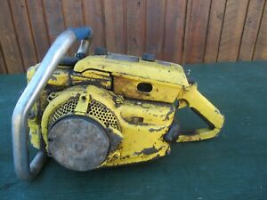 Vintage McCULLOCH 250 Chainsaw Chain Saw