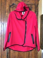 Bcbg Maxazaria Hoodie Red/black Size Large