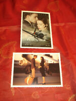 Ben Affleck Kate Beckinsale Pearl Harbor Film Promo Postkarten 2er Set 2001 !!