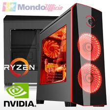 PC GAMING AMD RYZEN 3 1300X Quad Core - Ram 8 GB - SSD 240 GB - nVidia GTX 1060