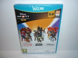 DISNEY INFINITY 3.0 STAR WARS -  NEW & SEALED - NINTENDO WII U - FREE POSTAGE