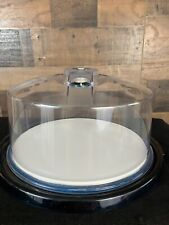 Carico Ultra Vac Cake Cup Cake Covered Food Storage Serving Plate NEW