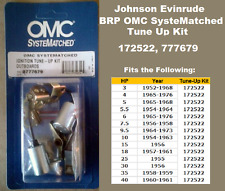 BRP Johnson Evinrude Tune-Up Kit 25 30 35 40 HP 1955-61 See Chart 172522 OMC