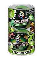 ZURU 5 SURPRISE 7781 5 Surprise Dino Strike Glow in The Dark, Double Pack