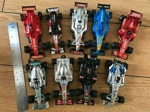Plastic toy cars -Formula 1 racing cars / pace car / formula 1 / Grand Prix / F1