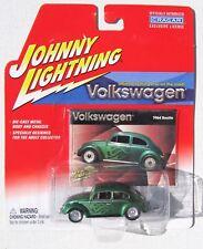 JOHNNY LIGHTNING R4 VOLKSWAGEN 1964 VOLKSWAGEN BEETLE CUSTOM with FLAMES