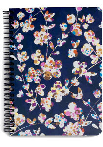VERA BRADLEY Mini Notebook Spiral Pocket CUT VINES College Rule Professional NEW