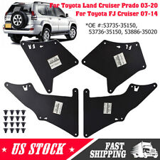 For Toyota FJ Cruiser 2007-2014 Fender Liner Splash Guards  Mud Flap Apron Seal
