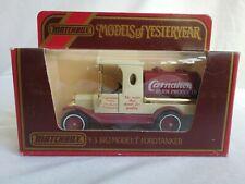 Matchbox Models of Yesteryear Y3 1912 Model 'T' Ford Tanker - Carnation