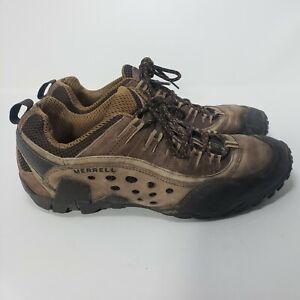 MERRELL AXIS 2 MID Hiking Shoes Men's Size 9.5 / 43.5 J15203 Espresso Brown EUC