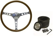 Holden EH EJ HD HR SAAS Classic Steering Wheel 365mm Wood Wheel & Boss Kit