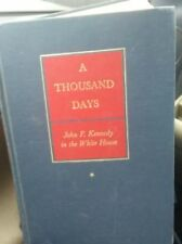 A Thousand Days by Schlesinger  ©1965 Hardcover 1St Printing Blue Gilt