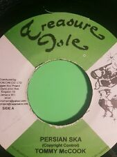 TREASURE ISLE RECORDS PERSIAN SKA  / ONCE A MAN TWICE A CHILD. TOMMY MCCOOK.  JU