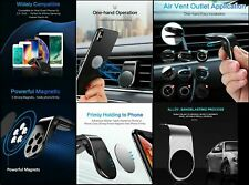 In Car Magnetic Phone Holder Fits Air Vent Universal Mount for Smartphones
