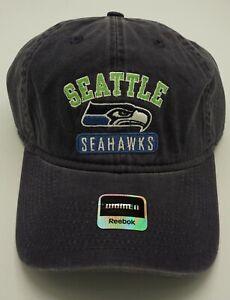 NFL Seattle Seahawks Reebok Womens Slouch Adjustable Fit Hat Cap NEW