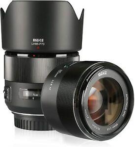 Meike 85mm F/1.8 Full Frame Auto Focus Prime Lens For Canon EOS EF Mount DSLR